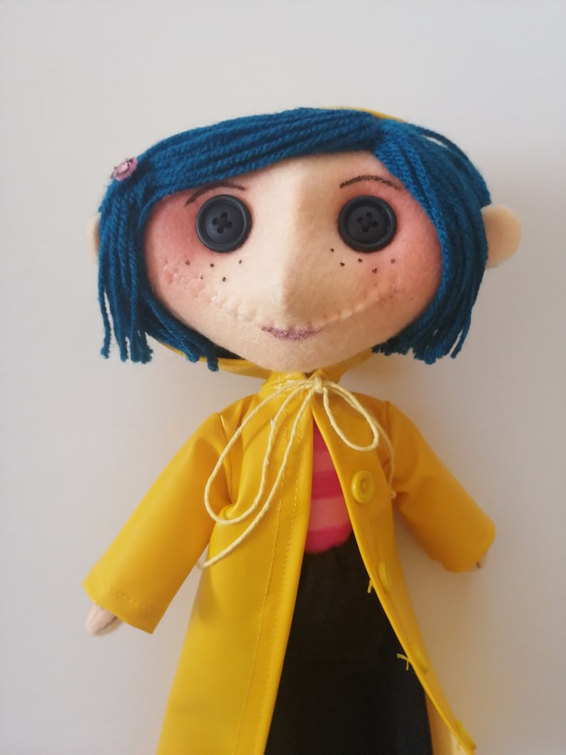 Includes Free Gift The Spy Coraline Doll Movie Coraline Etsy