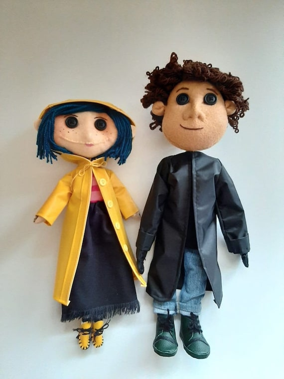 Coraline And Wybie Dolls Bundle Etsy
