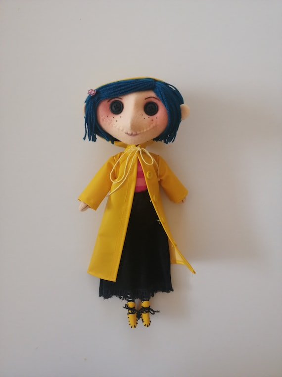The Spy Coraline Doll Movie Coraline Inspired Handmade Doll Etsy