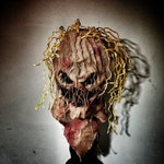 Burlap Scarecrow Mask