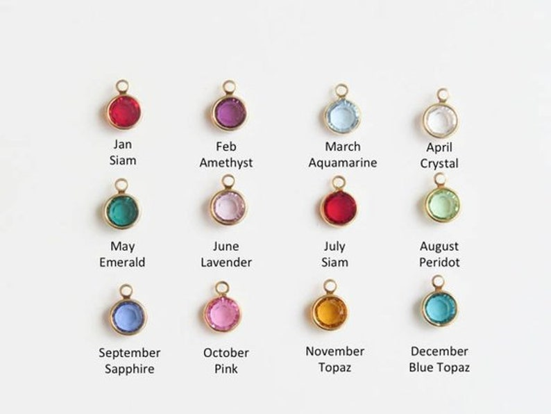 Mother/'s Day Mommy Necklace Birthstone Jewelry Personalized Birthstone Name Bar Necklace Gift for Mom Grandma Baby Name Kids Name