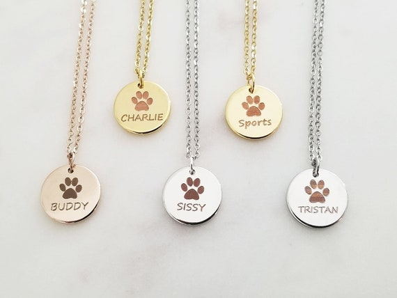 Pets Necklace Custom Necklace Jewellery Gift, Custom Necklace Personalized Necklace