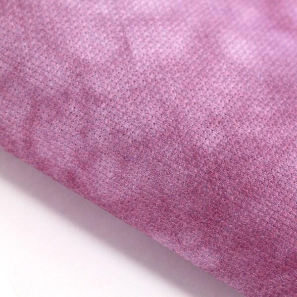 Violet - teintée la à la teintée main / tissu au point de croix / / choisir Aida, étamine lin ou Quilt / broderie. Teint à la main Lugana Cashel PT. cb2a6c