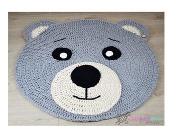 Teddybär Teppich Etsy
