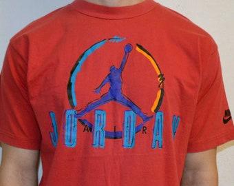e943f6b71d26 Vintage Nike Air Jordan t shirt