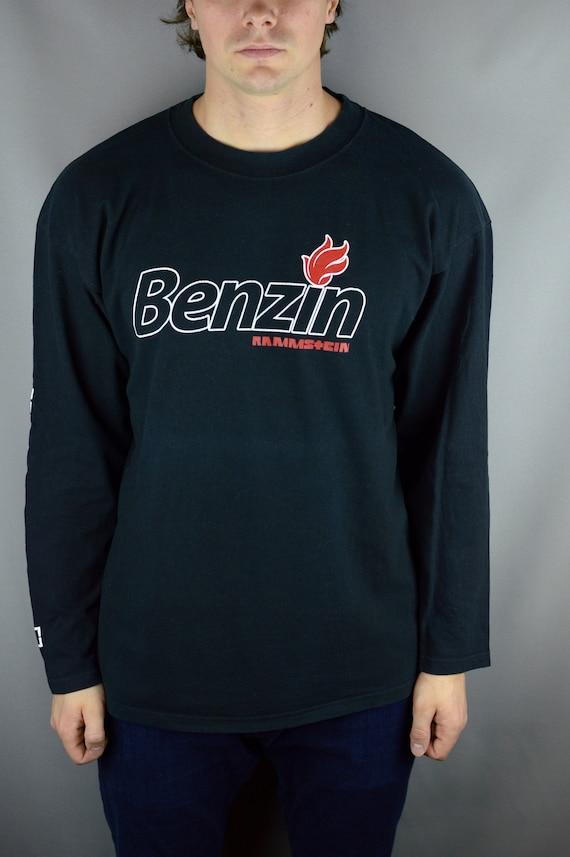 Vintage Rammstein Benzin longsleeve t shirt
