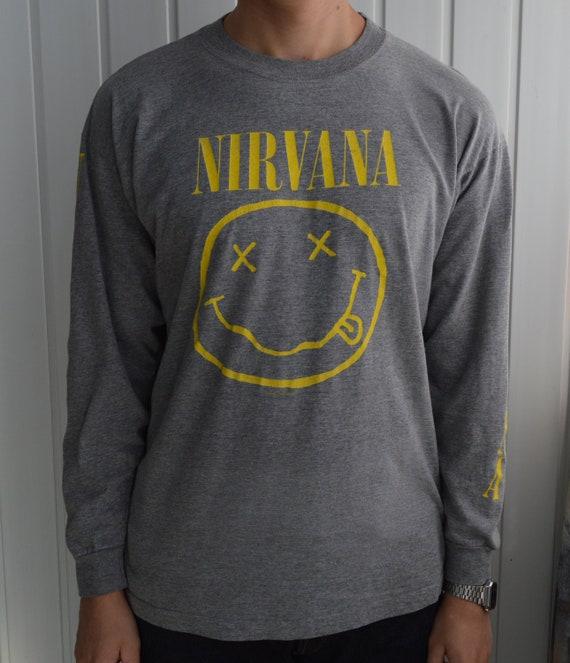 Vintage 1992 Nirvana long sleeve t shirt tee