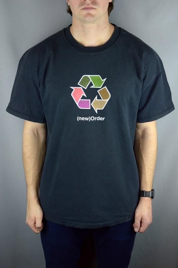 Vintage New Order 90s t shirt
