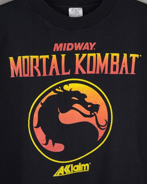 Vintage Mortal Kombat Midway Acclaim 90s t shirt - image 2
