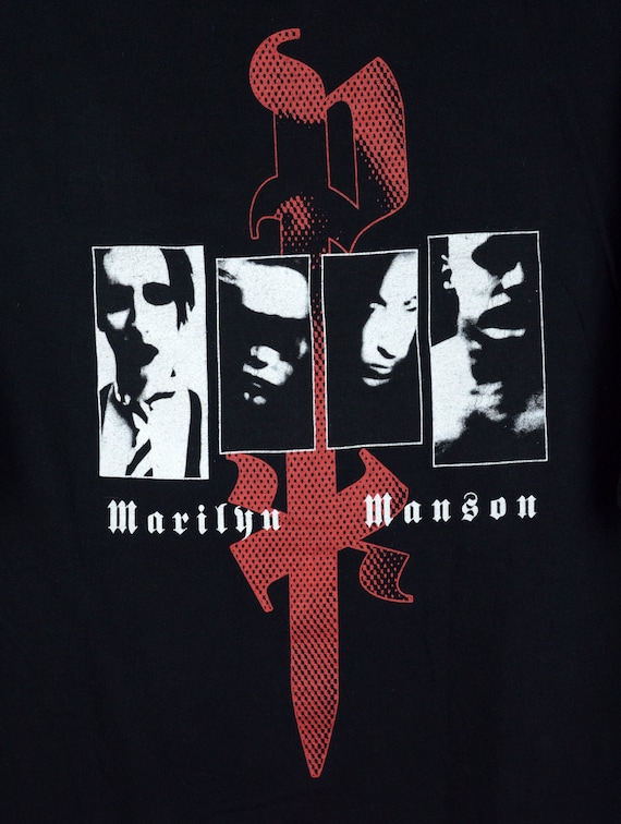 Vintage Marilyn Manson Personal Jesus t shirt - image 4