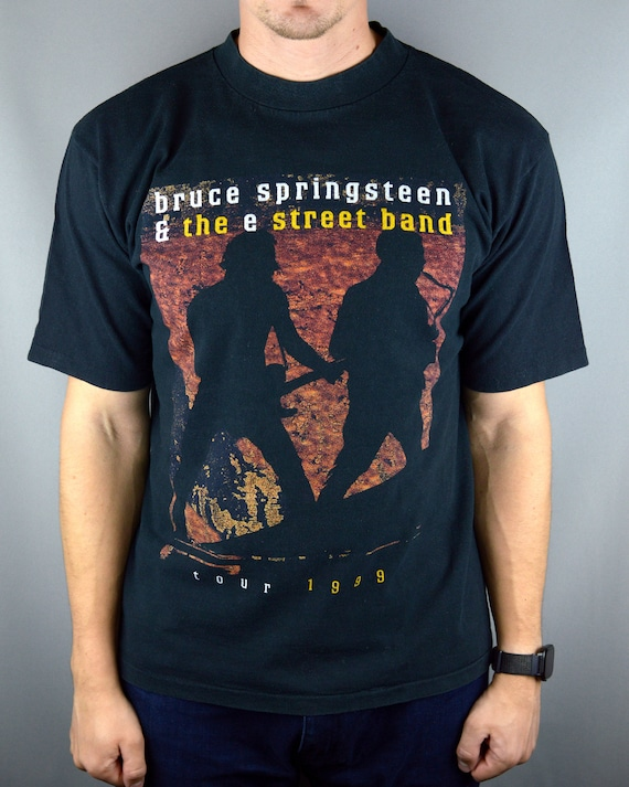 Vintage 90s Bruce Springsteen And The E Street Band Promo Concert T Shirt XL