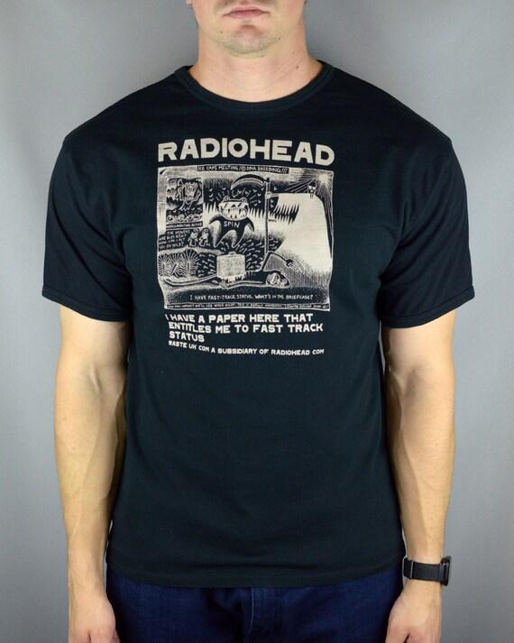 Vintage Radiohead WASTE  t shirt
