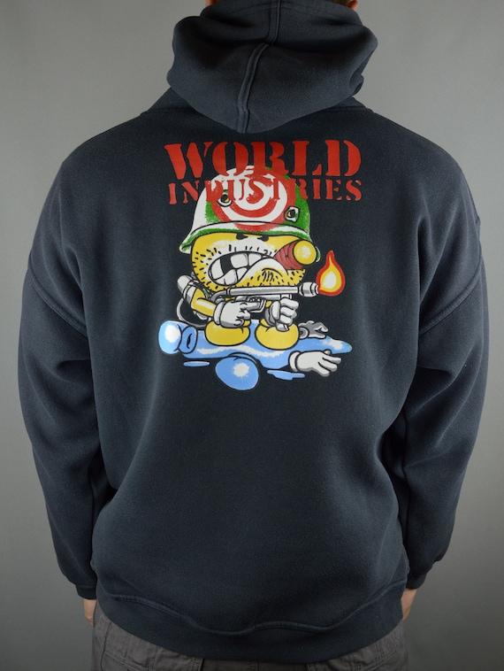 Vintage World Industries 90s hoodie
