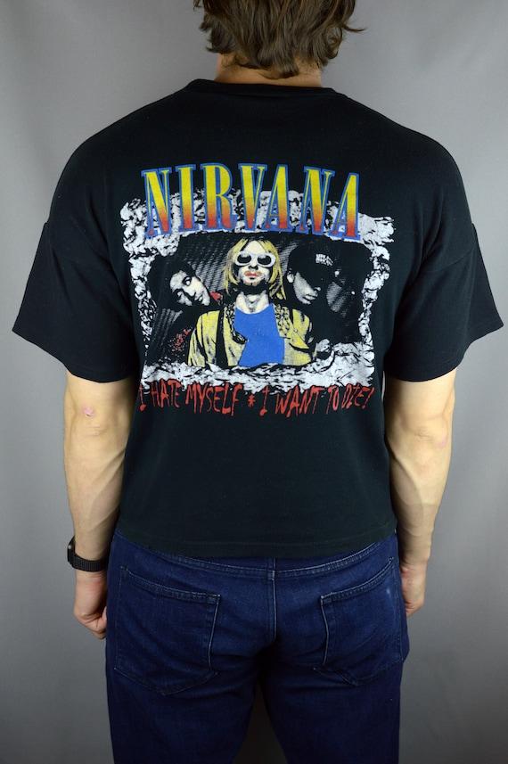 Vintage Nirvana Kurt Cobain 90s t shirt