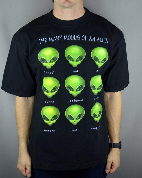 Vintage Alien Workshop The Many Moods of an Alien
