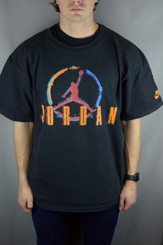 Vintage Jordan Nike 90s t shirt (Single Stitch)