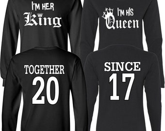 Couple Tshirt Design Etsy