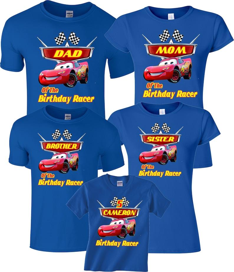 40e39a99 Birthday Boy Custom Family Cars MOM DAD and family Custom | Etsy