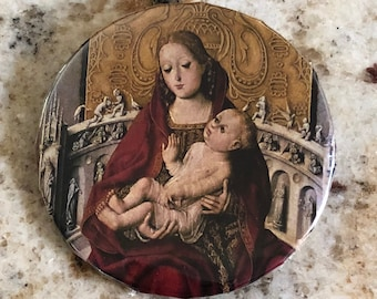 Madonna and Child Pin