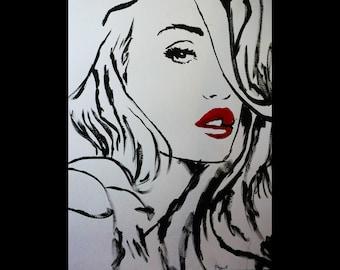 Beautiful Acrylic Giclee Print