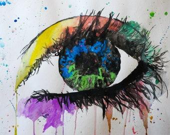 Beautiful Watercolour Giclee Print