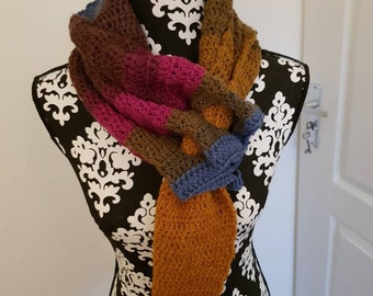 Colored Bead Scarf