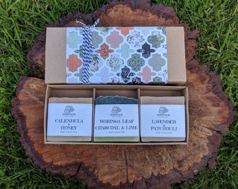 Choose 3 Soaps in a Gift Box