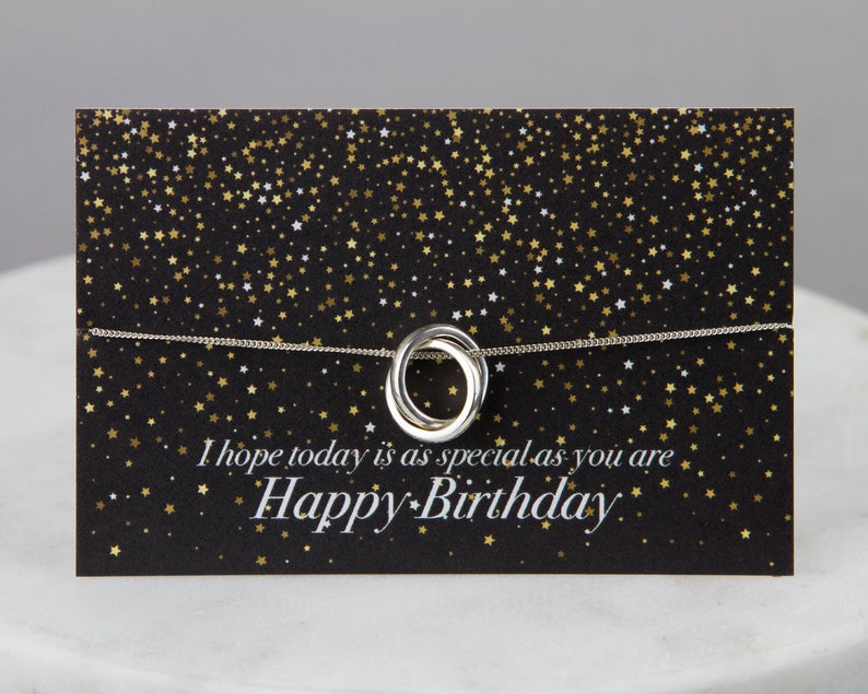 Birthday Gift Necklace Wishes Quotes Colleague