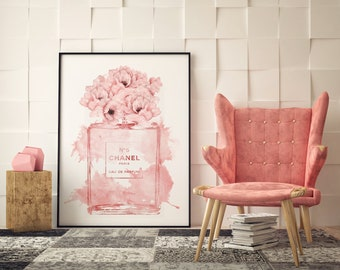 693492d15d4 INSPIRED BY Coco Chanel wall art print