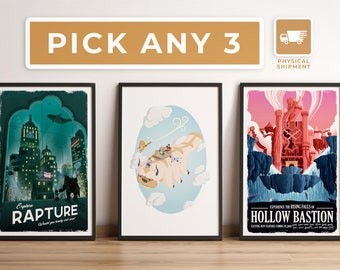 Pick Any 3 - Physical