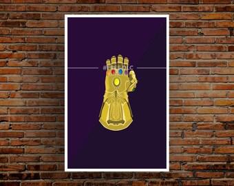Infinity Gauntlet (Marvel Studios) Postcard