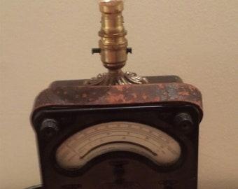 steampunk desk/table lamp