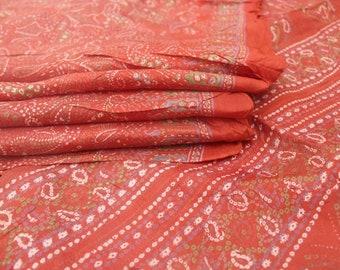 100% Pure Silk Sari Silk Fabric Dressmaking Fabric Pure Silk Saree Beautiful Vintage Pure Silk Sari Dressmaking Fabric Craft Sari #PSTIC 693
