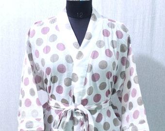 100% Cotton kimono Robes, Pure cotton Kimono, Cotton Kimono, Festival Clothing, Kimono Kaftan, Oriental Kimono, Women's robes #CKS 46