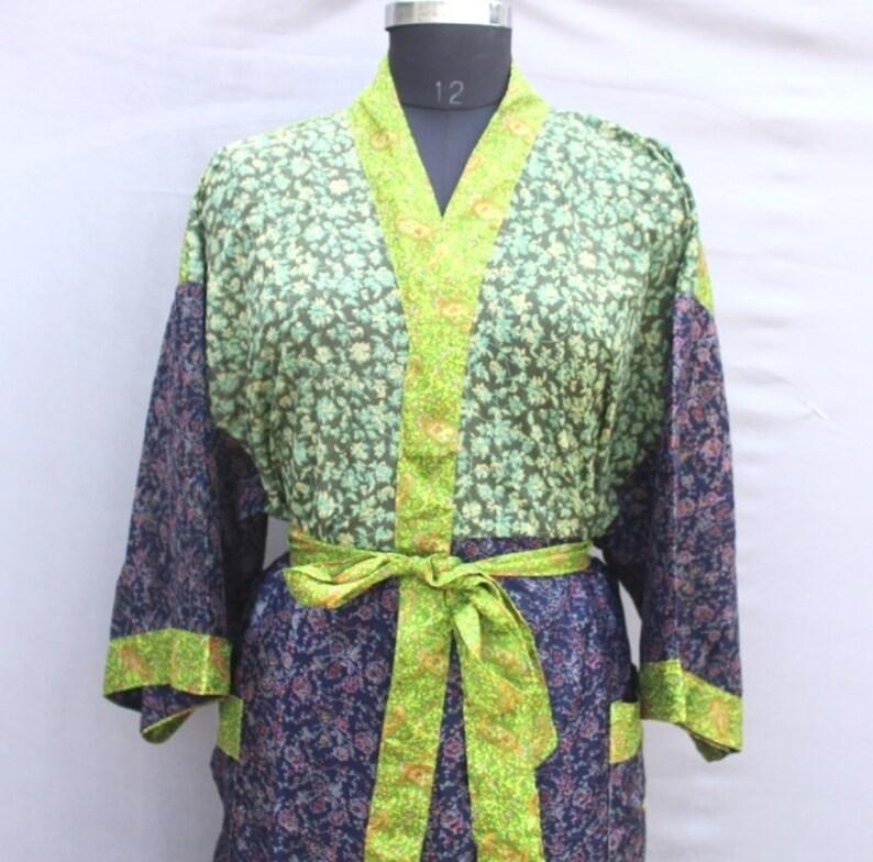 Women Luxury Long Smooth Silk Robe Robe with Elegant Bridal Wear Bridesmaid Wedding kimono High-quality Lingeries #MK 838