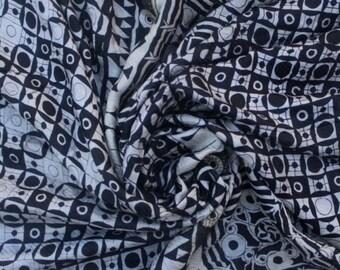 100% Pure Silk Black Sari Silk Fabric Traditional Culture Sari 5 Yrd Women Sari Fabric Home Decor Sari Ethnic Craft Fabric Saree #PSTIC 676