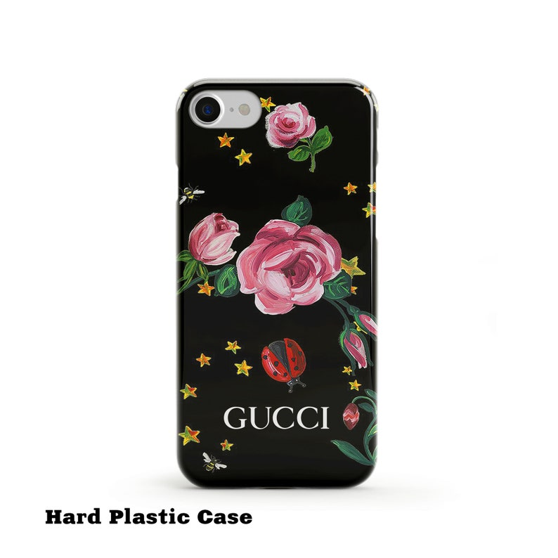 ed9cc8e861e08 Inspired by Gucci iPhone X Case iPhone 7 Case Brand iPhone XS Case iPhone 8  Case Samsung S8 Case Galaxy S9 iPhone 7 Plus Case Floral Case