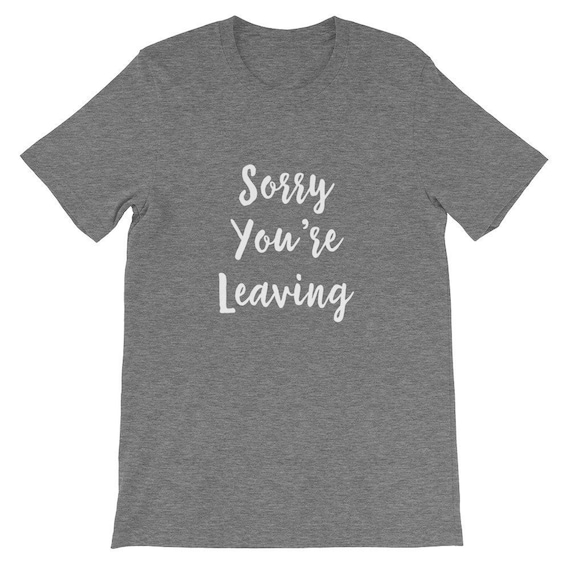 Sorry You Re Leaving Employee Gift Ideas Executive Gift Etsy