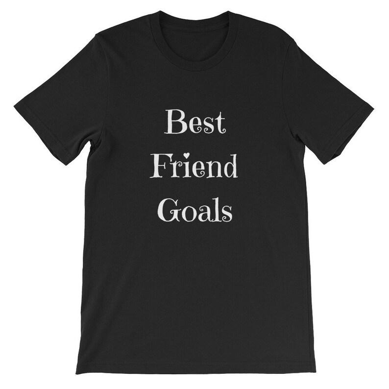 e1a50d4c7 Best Friend Goals Best Friend Shirts Best Friends T Shirt Cute | Etsy