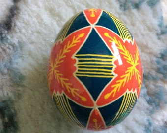 Charming and Colourful Ukrainian Decorated Egg (Pysanka)