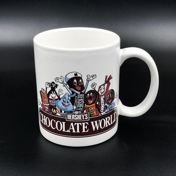 Produits D'amoureux Chocolat AnthropomorpheCadeau Hershey Publicitaire Des Monde De Vtg HersheyMugTasse Avec Mug Du DH29EWI