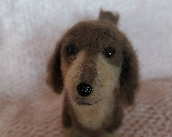 Needle Felted Dachsfund