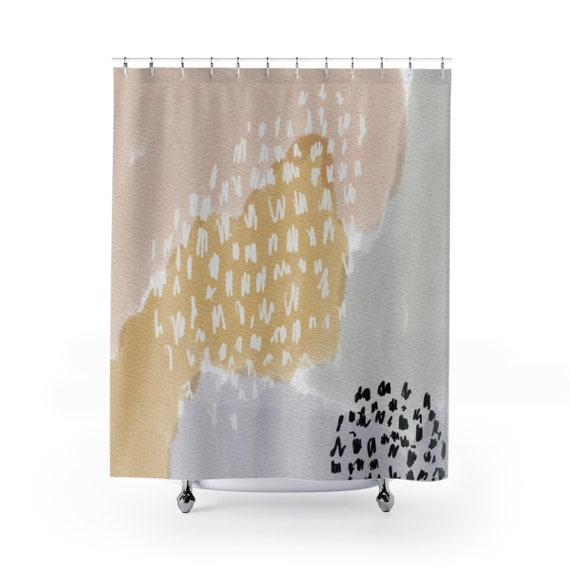 Artsy Shower Curtain Shower Curtain Shower Curtains Boho