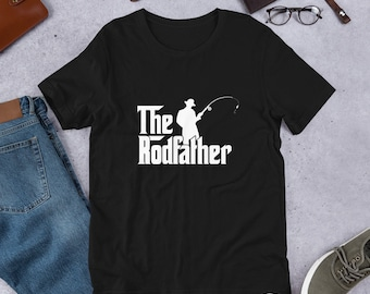 3ca679b90 The Rodfather - Fathers Day Fishing - Loving Fishing T-Shirt, Gift for  Father's Day, Cute Gift for Dad, Funny Father Day T-shirt VC484