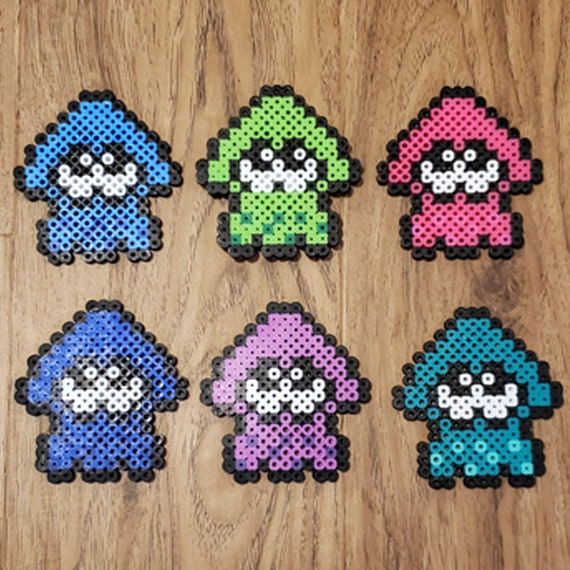 Splatoon Squid Perlers