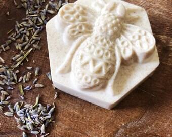 Honeybee Oatmeal Lemongrass Lavender  Soap - Soap - Body Bar