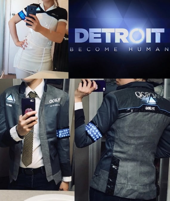 Kara Connor Led Cosplay Detroit Become Human Costume Etsy