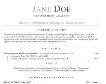 Entry Level Resume