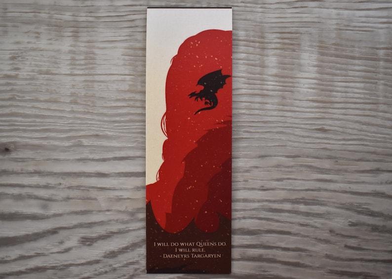Daeneyrs Targaryen Bookmark_Game of thrones_Bookmark image 0