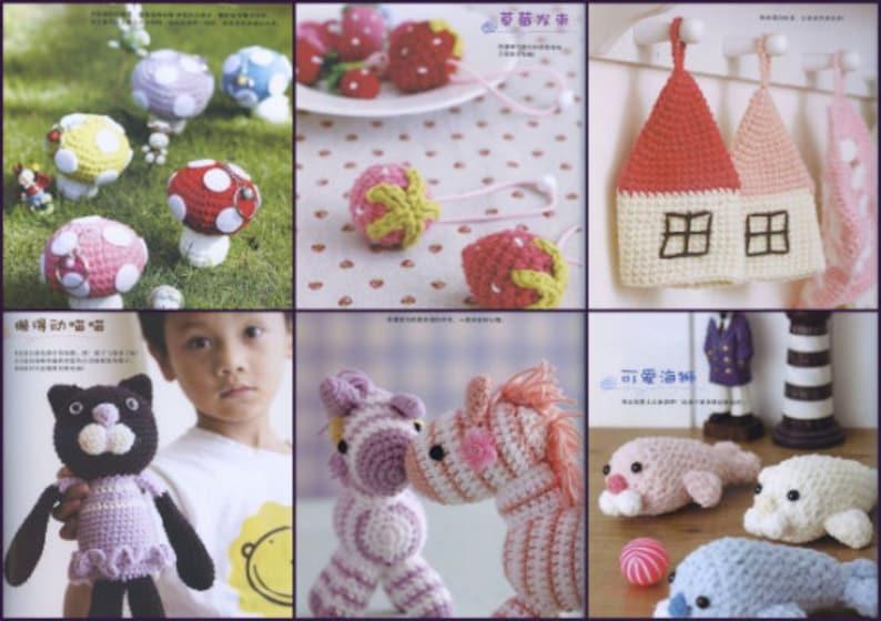 Japanese Collection Amigurumi I: Crochet Kawaii Critters designed by Aoi  Tran eBook: Tran, Aoi: Amazon.ca: Kindle Store | 560x794